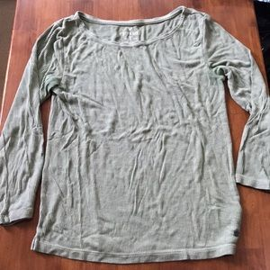American Eagle Outfitters Ribbed Crop Top